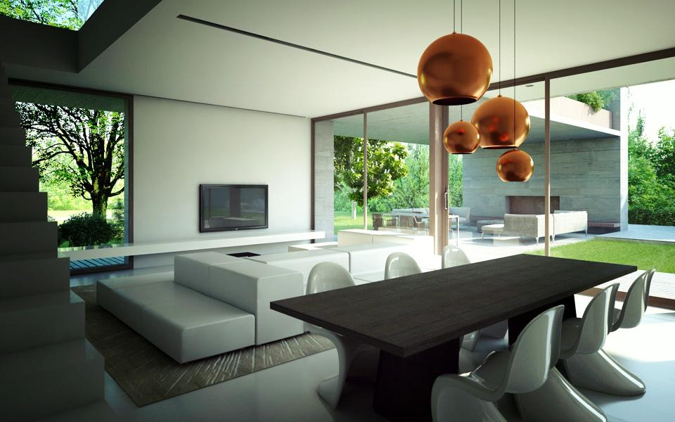 Villa eurosia case di paolo grassi for Arredamenti interni case moderne